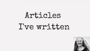 articles-ive-written