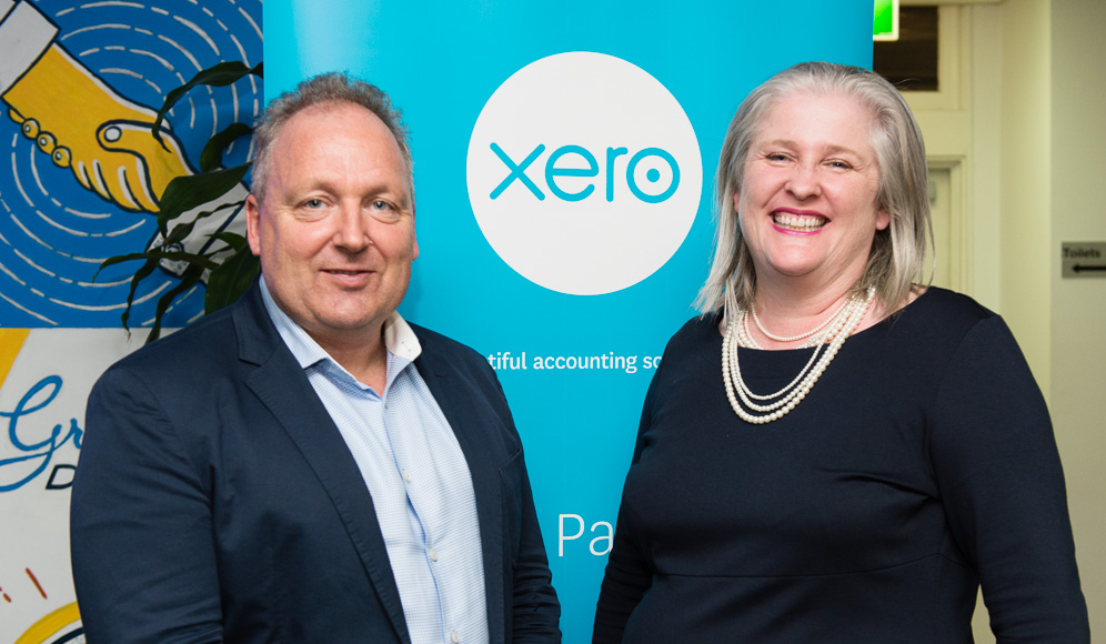 Rod Drury CoFounder and CEO of Xero and Heather Smith author Xero for Dummies